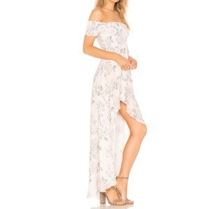 Show Me Your Mumu Willa Maxi Floral Rose Dress